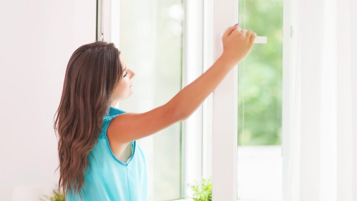 Пластиковые окна для спальни