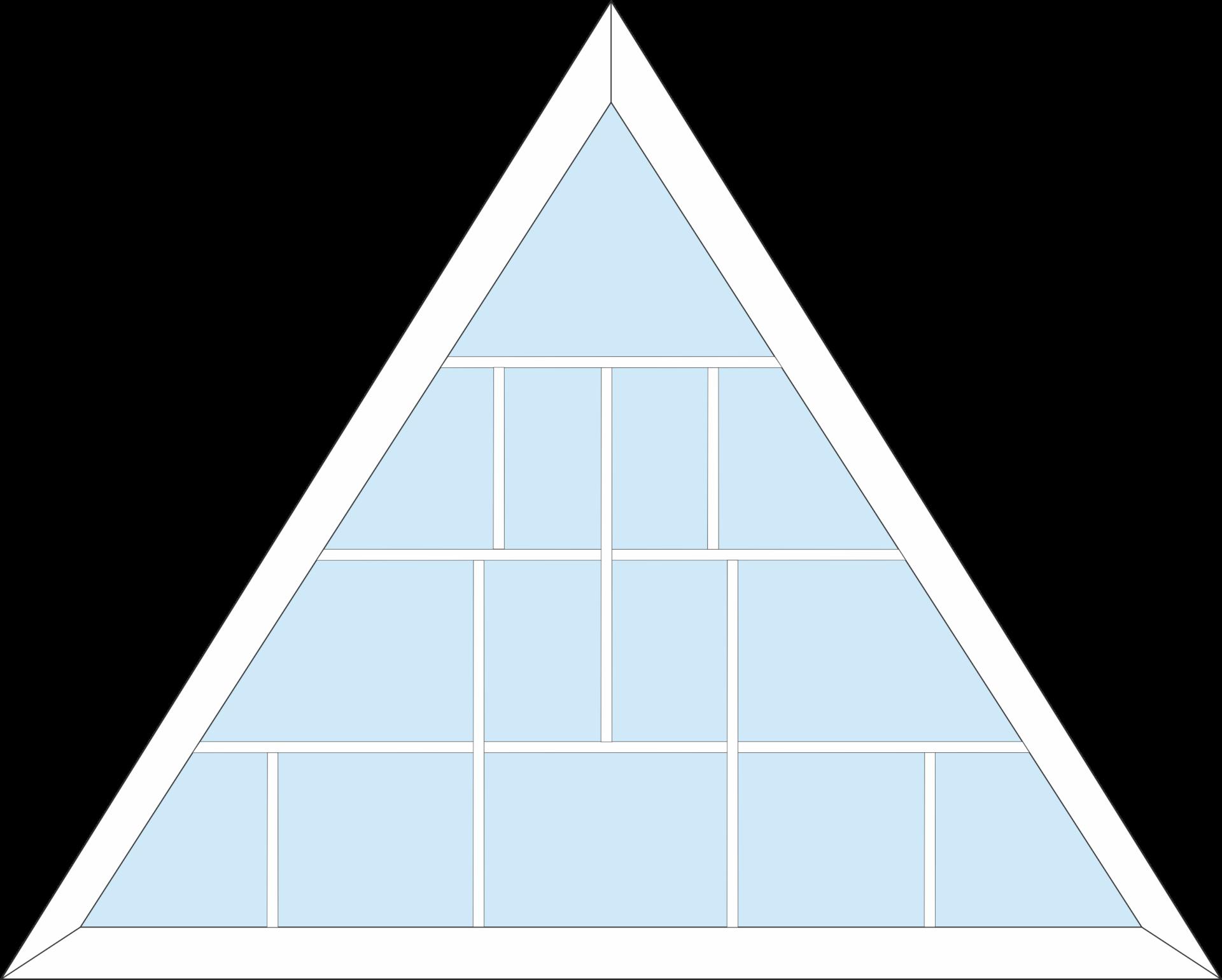 изображение окна треугольные