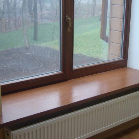 изображение окна с ламинацией